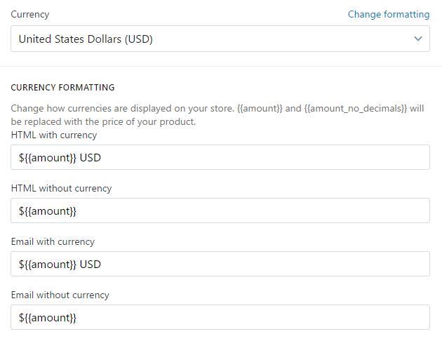 shopify平台注册开店零基础入门教程 1 - Shopify平台注册开店零基础入门教程 - Shopify店铺基本设置 Setting – General