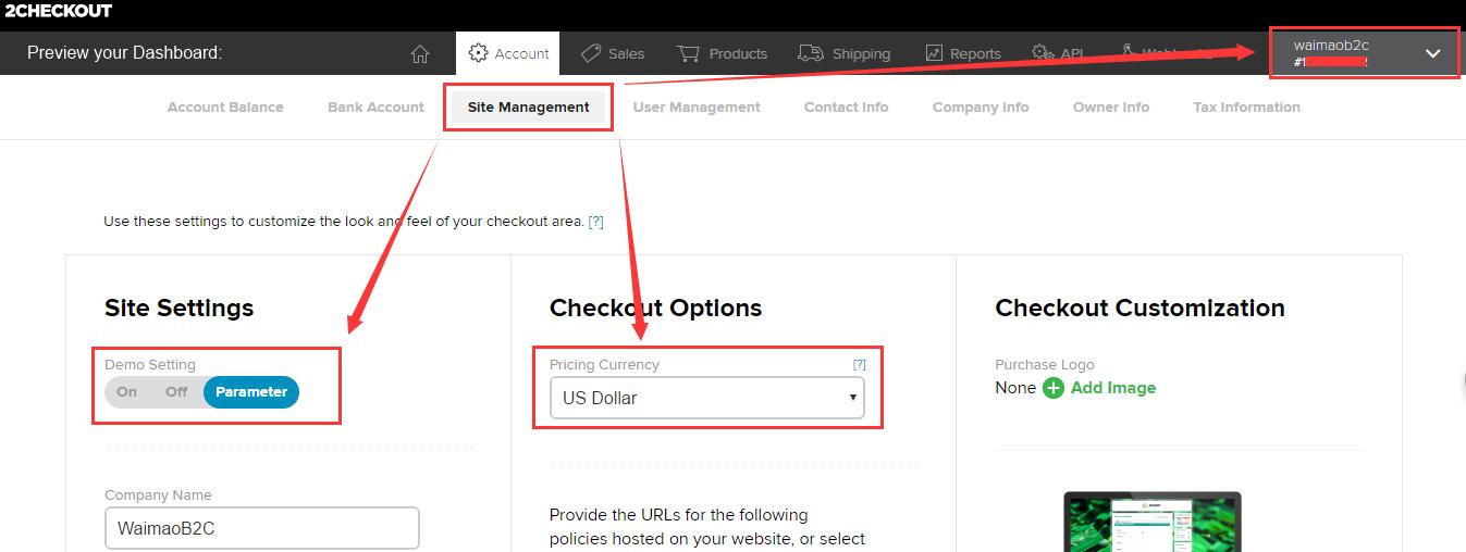 Shopify平台注册开店零基础入门教程 - Shopify店铺基本设置 2Checkout信用卡收款设置