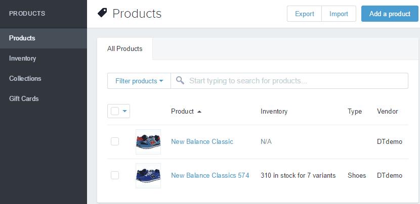 Shopify开店建站营销推广卖家平台后台中文指南 – Products/产品管理