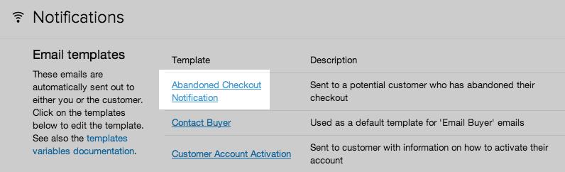 Shopify开店建站营销推广卖家平台后台中文指南 – Abandoned checkout recovery/挽救弃单