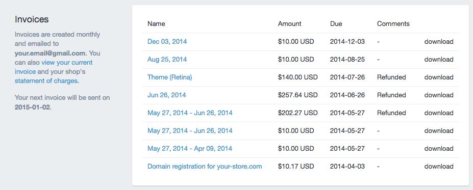 Shopify开店建站营销推广卖家平台后台中文指南 – Account/Shopify中的账号管理