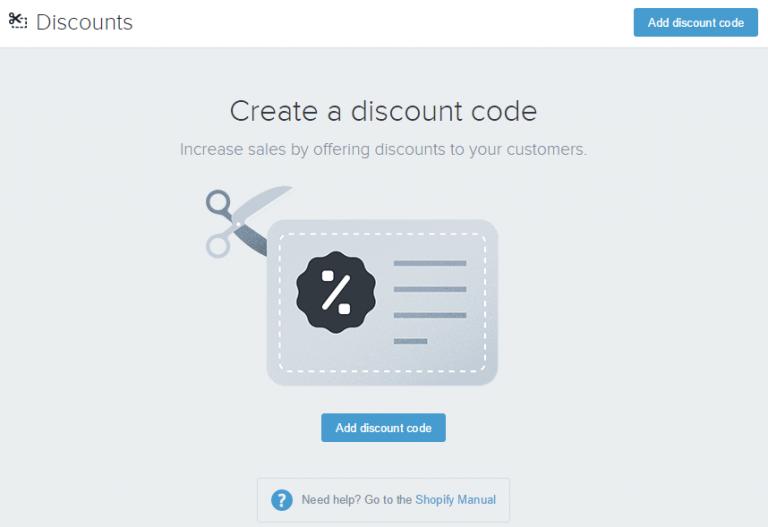 Shopify开店建站营销推广卖家平台后台中文指南 – Discounts/折扣管理