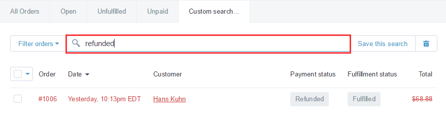 shopify开店建站营销推广卖家平台后台中文指南 – exportprintnotest 10 - Shopify开店建站营销推广卖家平台后台中文指南 – Export/Print/Notes/Tags/Sort/Filter/Contact Customer  订单的导出/打印/备注/标签/排序和过虑/联系顾客