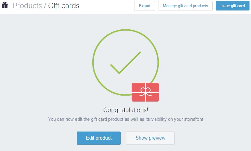 Shopify开店建站营销推广卖家平台后台中文指南 – Gift cards/礼品卡设置与管理