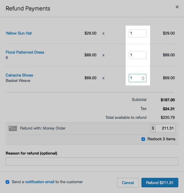 shopify开店建站营销推广卖家平台后台中文指南 – refund an order 2 - Shopify开店建站营销推广卖家平台后台中文指南 – Refund an order/退款操作