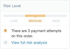shopify开店建站营销推广卖家平台后台中文指南 – risk analysis 2 - Shopify开店建站营销推广卖家平台后台中文指南 – Risk Analysis/风险分析