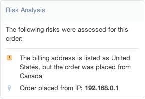 shopify开店建站营销推广卖家平台后台中文指南 – risk analysis 6 - Shopify开店建站营销推广卖家平台后台中文指南 – Risk Analysis/风险分析