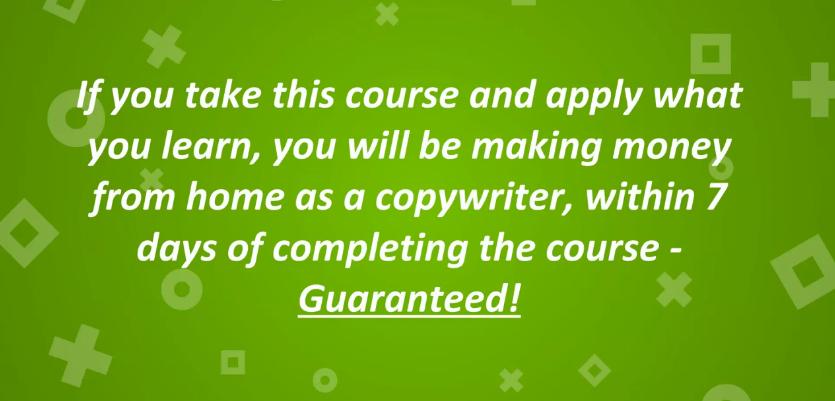 一个简单的培训计划,教你如何成为一个专业的销售文案大师。(Become a Freelance Copywriter In 7 Days)