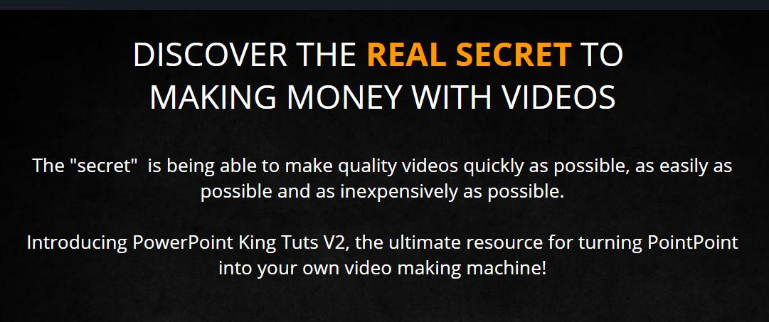 视频营销秘籍 - 将PointPoint转化为自己的视频制作机器的终极资源(PowerPoint King Tuts)