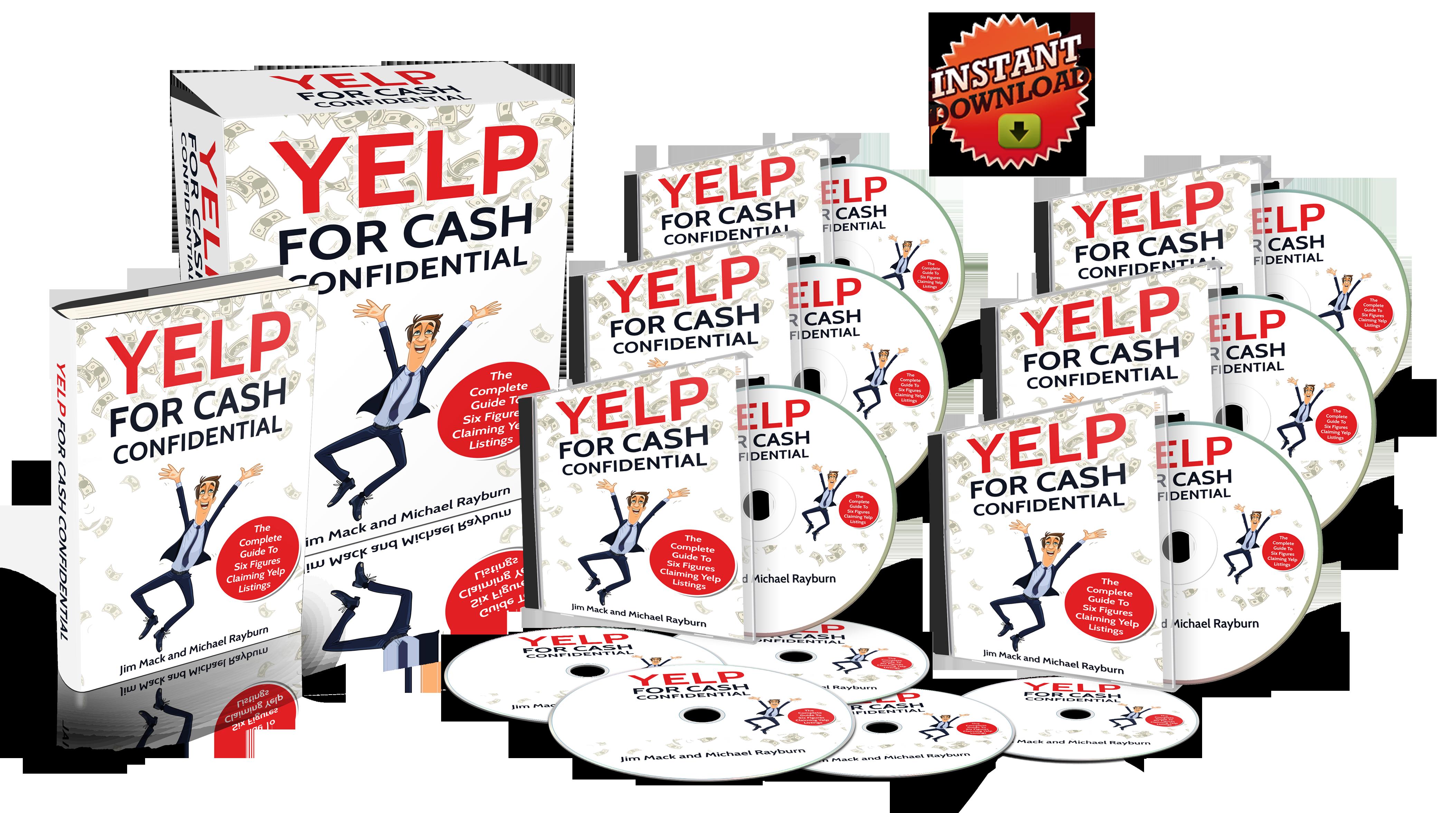 美国最大点评网站Yelp赚钱Ca$h机密(Yelp for Cash Confidential)