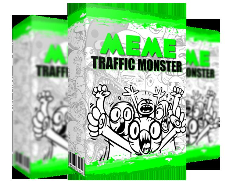 MEME迷因流量怪兽 - 每天500次免费点击 使用一个你从未见过的未开发的MEME流量方法(Meme Traffic Monster)