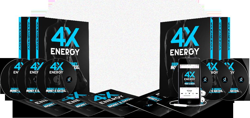 从你睡觉的那一刻起,直到你早上醒来的那一刻起,你就有了更深的睡眠的秘密以及持久的、主导的、全天的能量(4X Energy)