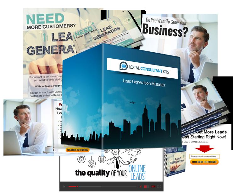 全新的、强有力的营销工具和资源,让你能够轻松、有效地克服小卖家在为他们的业务创造线上Leads时所犯的最常见的错误(Lead Generation Mistakes )