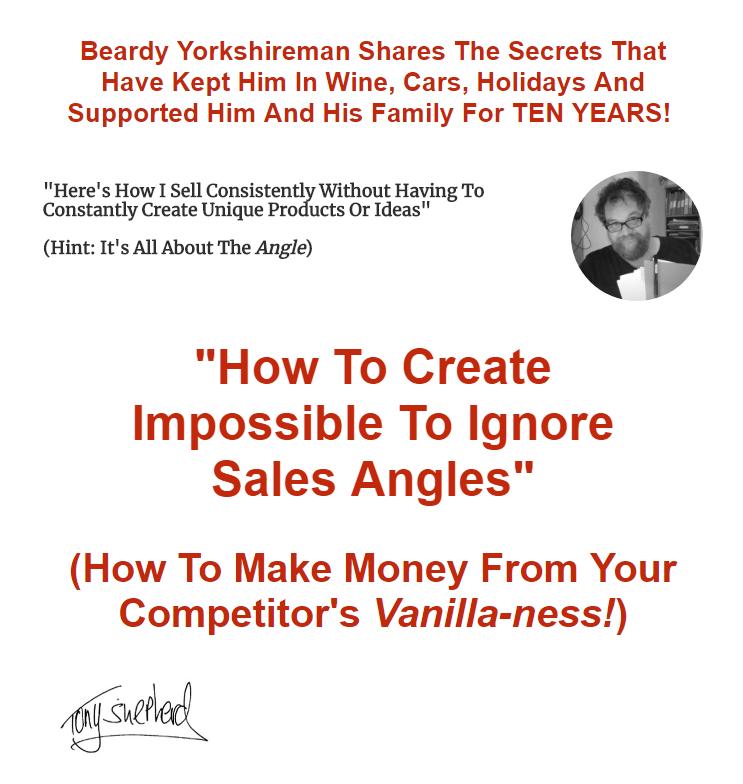 如何创造不可忽视的销售角度 - 并使您的产品和服务显得独特(Create Impossible To Ignore Sales Angles)