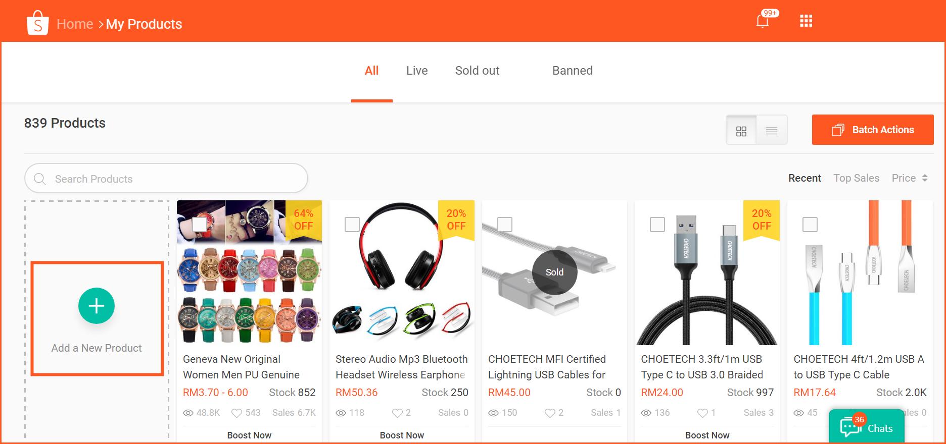 虾皮购物(Shopee电商平台)从商家帐号注册入驻卖家平台到运营教程 – 商品上传与管理 单个上传商品