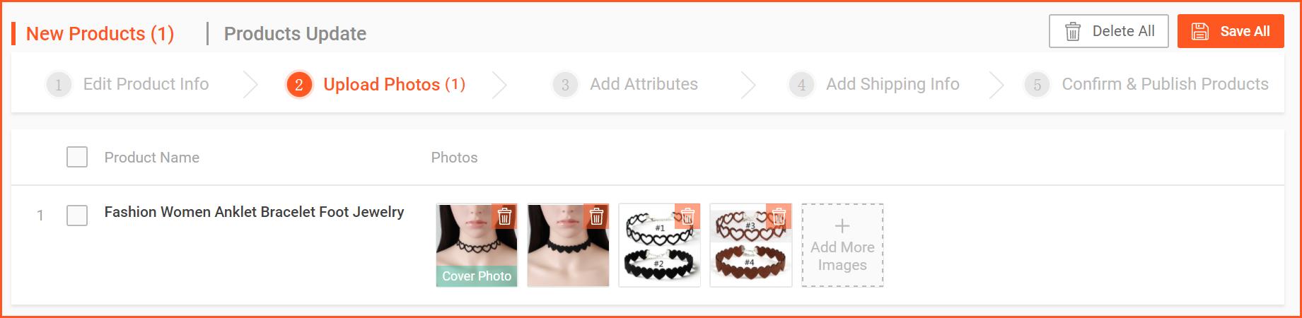 虾皮购物(Shopee电商平台)从商家帐号注册入驻卖家平台到运营教程 – 商品上传与管理 多个(批量)上传商品
