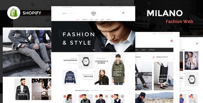 Shopify主题模板 - 免费、收费、破解付费模版36套Shopify主题打包下载(Shopify Themes)