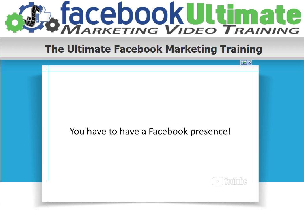 专业的Facebook营销培训视频会让你成为Facebook营销的即时专家,所以你真的可以以最简单、最快的方式从Facebook开始获利。(Facebook Ultimate Marketing Video Training)