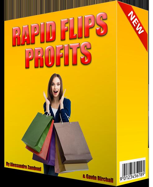 分享我们的快速电商运营方法 - 零流量和零成本赚取-0+/天(Rapid Flips Profits )