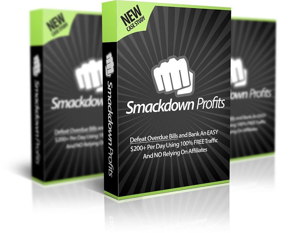 循序渐进的PDF指南,让过期的账单和穷光蛋的银行账户成为过眼云烟,每天轻松100美元+ 200美元,不使用列表,没有付费流量,不依赖脸书营销!(Smackdown Profits)