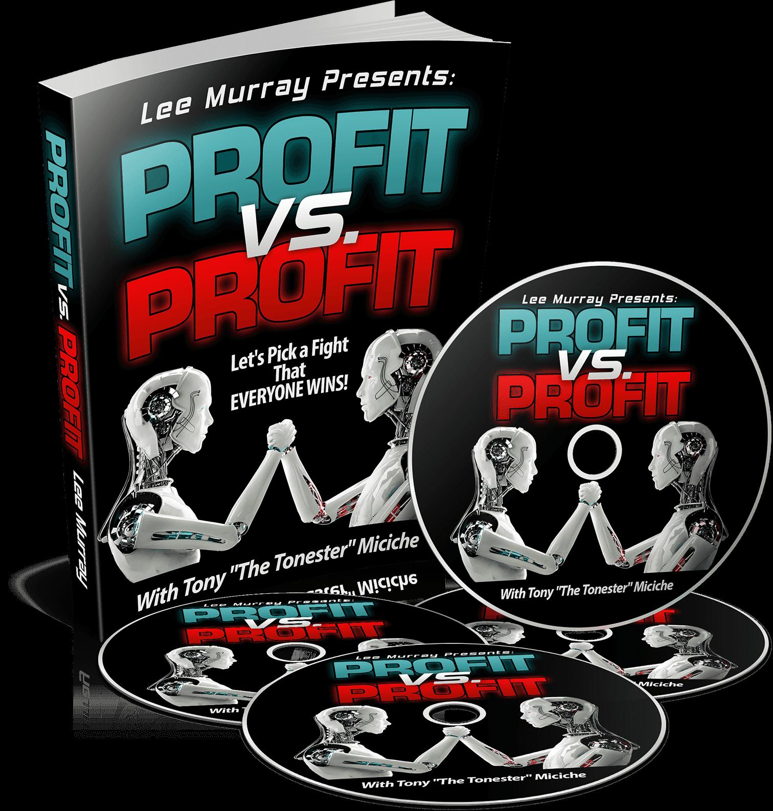 怎样仅仅利用一个小小的报告以及一些廉价的和容易外包的服务就能被动的赚取每天数百美元的!(Profit vs. Profit )