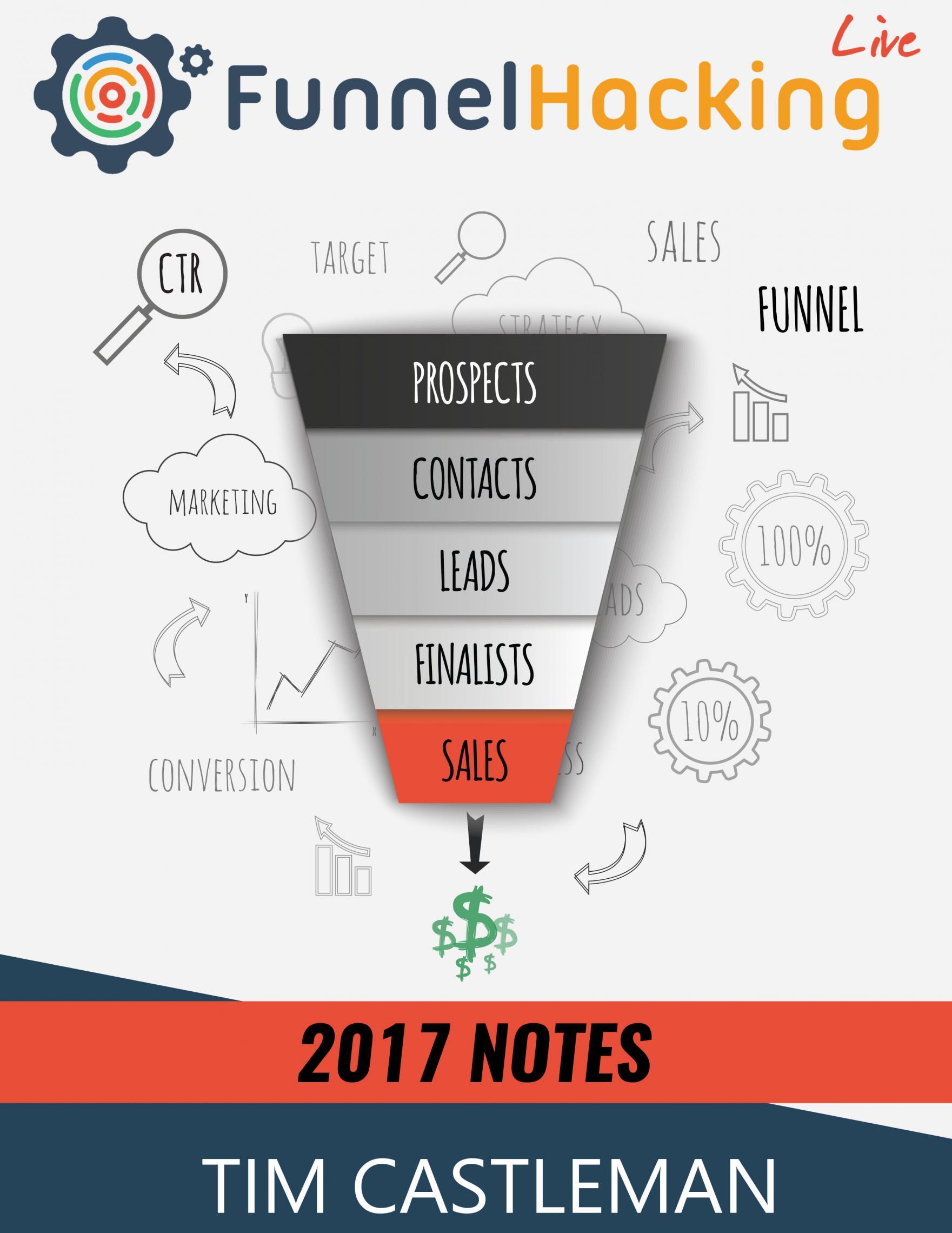 Email/ List-Building Funnels、Membership Funnels、Ecommerce Funnels、Amazon Funnels、Supplement Funnels、Event Funnels、Social Webinar Funnels、The Podcast Funnel(2017 Funnel Hacking Live Notes)