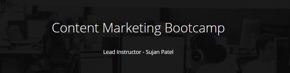 内容营销训练营 - 利用内容营销来驱动流量,建立你的品牌,生成leads,驱动销售。(Content Marketing Bootcamp )