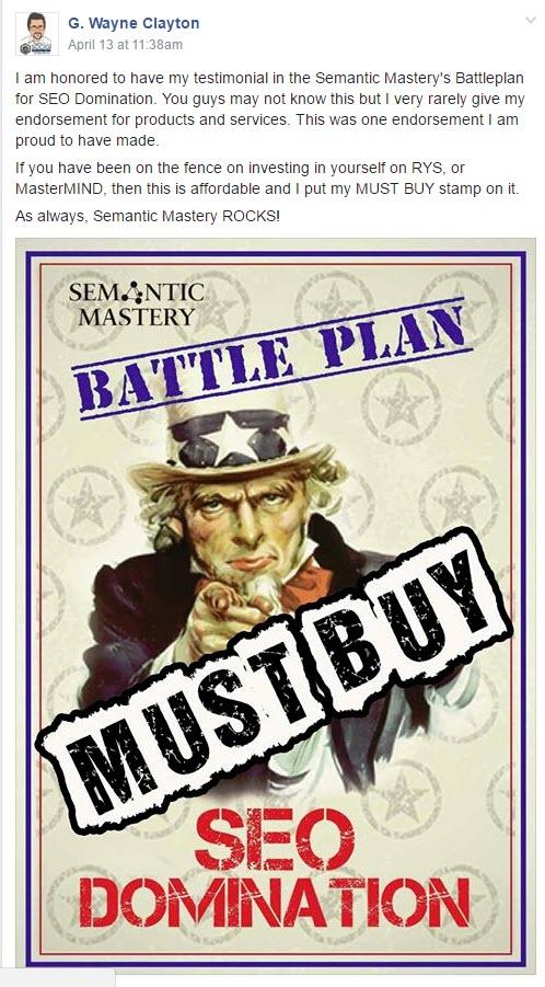 搜索引擎优化的战斗计划将会给你所有你需要的东西来处理你遇到的棘手的排名,流量和销售问题。(Battleplan - SEO Domination)