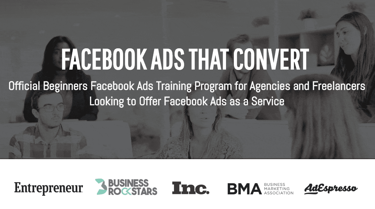 Facebook广告六周培训视频教程(Facebook Ads That Convert)
