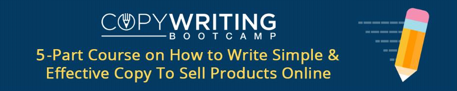 它会改变你的销售方式,最重要的是,任何人都可以使用这个系统在互联网上销售任何产品。(Copywriting BootCamp )