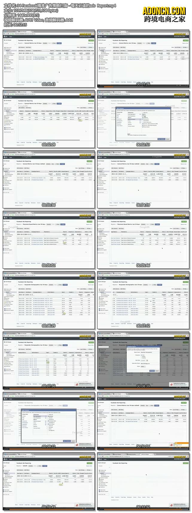 Facebook精准广告策略扫盲 - 每天必读的ads  Report(外贸电商在Facebook上怎么做推广如何做营销视频教程)