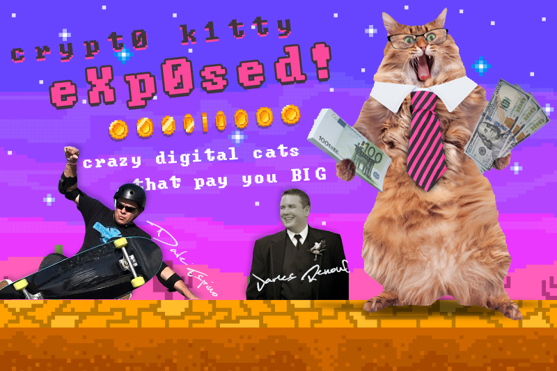 """In the last two weeks we have """"Digital Cats"""" known as Crypto Kitties that are selling in some cases for over 0,000.(Crypto Kitties Exposed)"""