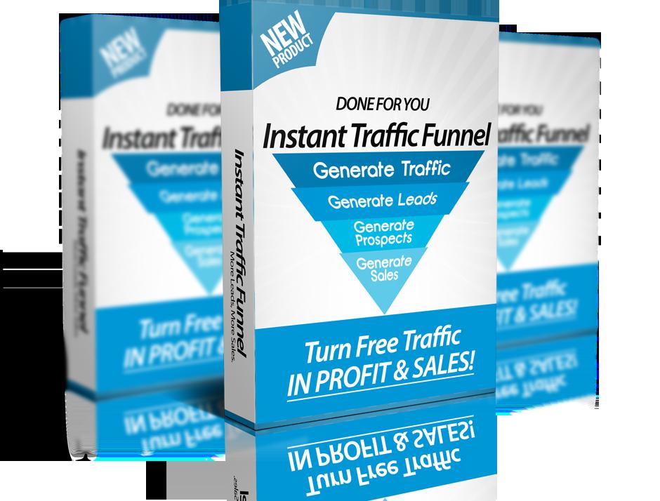 为你提供一个完整的流量和销售渠道,将任何流量转化为无限的利润。(Instant Traffic Funnel)