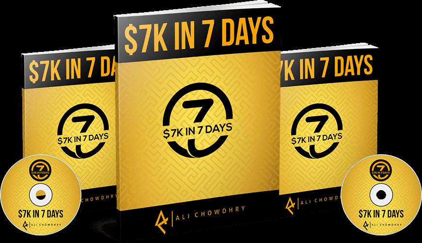 没有产品,不用花钱做付费广告,揭秘我曾经用7天赚了$7000刀而且没有任何客户列表的秘密。($7K In 7 Days Blueprint)