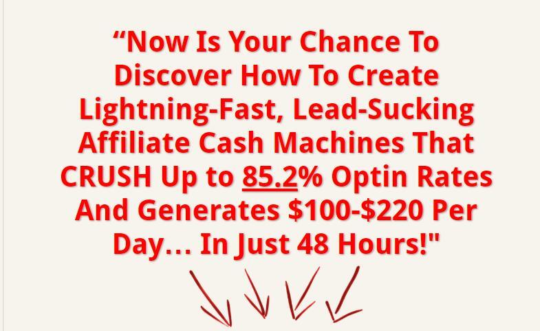 48小时探索联署营销如何创建高达%85.2的打开率和赚取$100- $200美元每天(Super Affiliate Ninja Secrets)