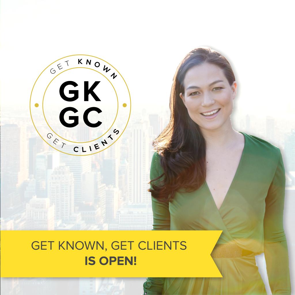六个月培训教你如何赚更多的钱,并在你的领域脱颖而出。(Get Known, Get Clients)
