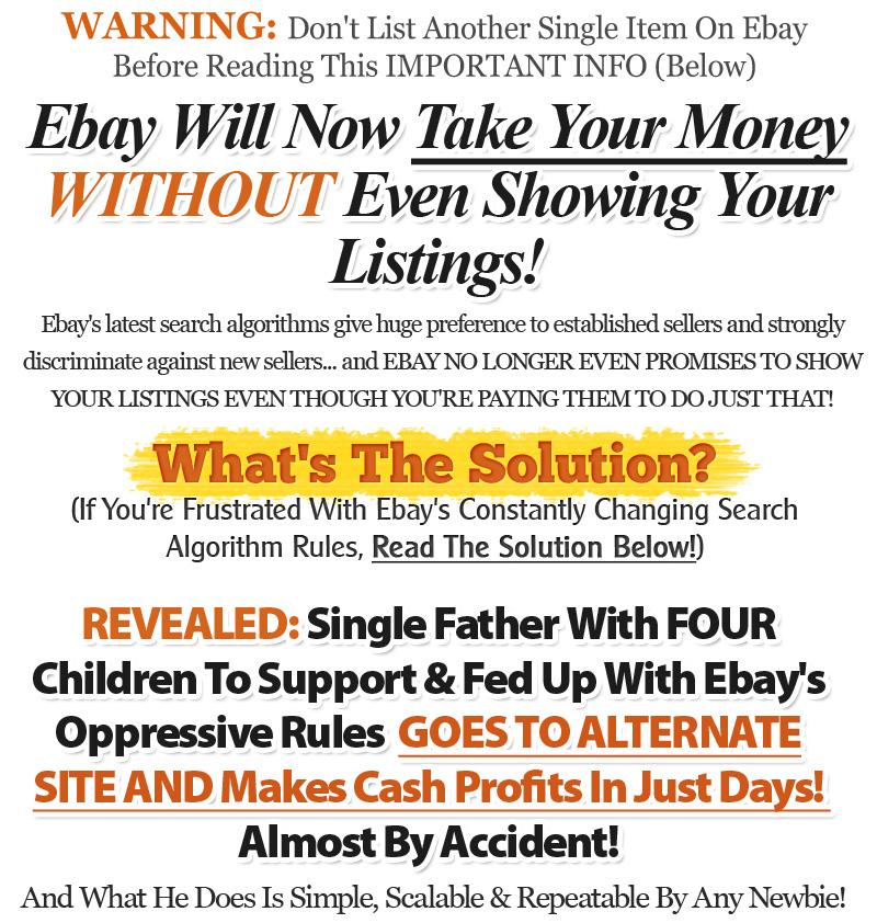 向你展示了如何通过简单地使用现在被许多专家认为是最好的,最强大的和最容易在整个互联网上使用的在线销售网站来获得优秀的现金收入。(Your Etsy Profit Machine)