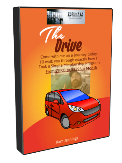 如何引流超过30674名访问者来到一个简单的网页,上面除了视频和购买按钮什么都没有…(The Drive: Zero to 96 Monthly)