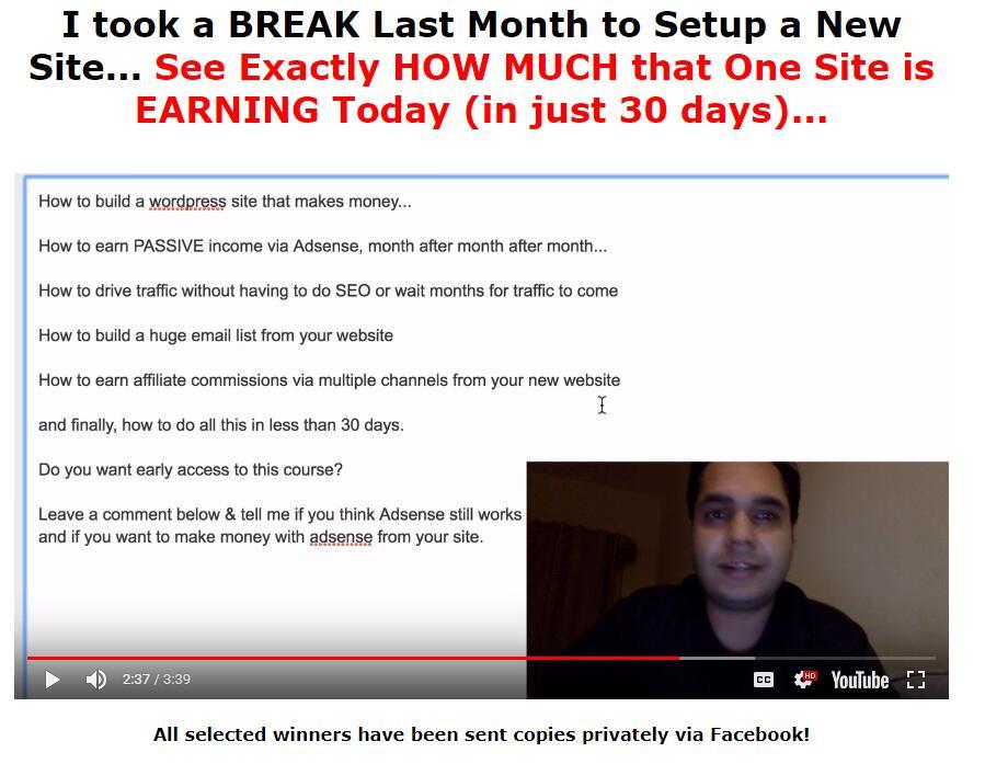 学习准确的策略来运行一个成功的Google AdSense机器,可以帮助你日日夜夜赚钱。(Adsense Machine)