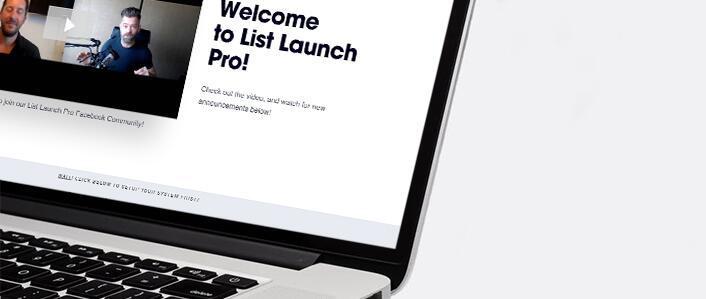 从零开始迅速地建立你的第一个5,000名电子邮件订阅用户列表(List Launch Pro)