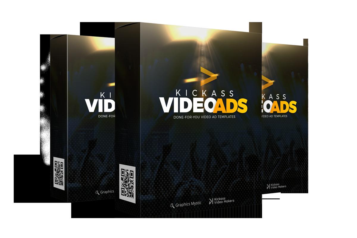 大量爆款模板助你在几分钟内创造高转换率和高盈利率的视频广告(Kick-ass Video Ads)