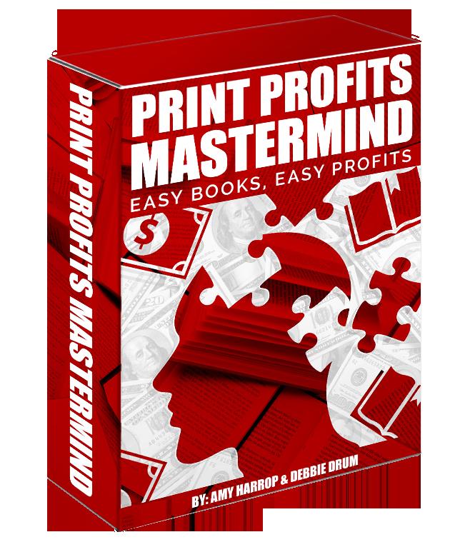 发现如何通过快速创建出版低竞争大众内容畅销书快速赚钱(Print Profits Mastermind)