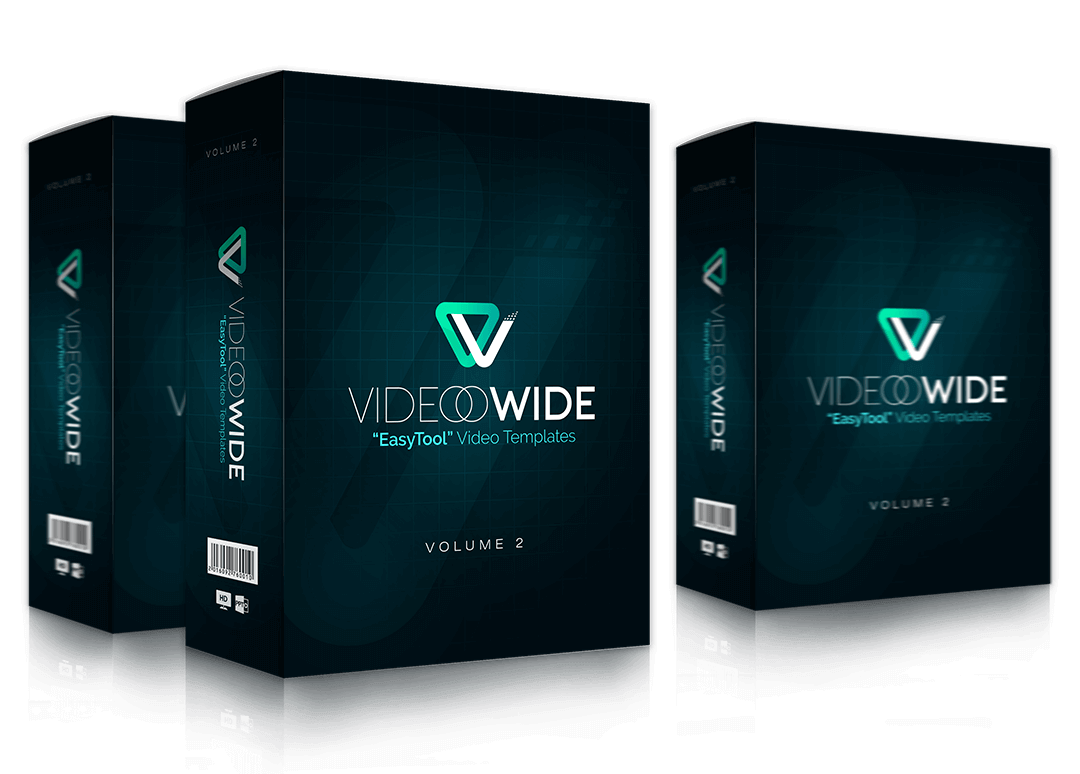 在不到10分钟内俘虏你的观众 - 教您简单的方法来创建高质量的视频(VIDEOOWIDE Volume 2 – EasyTool Video Templates)