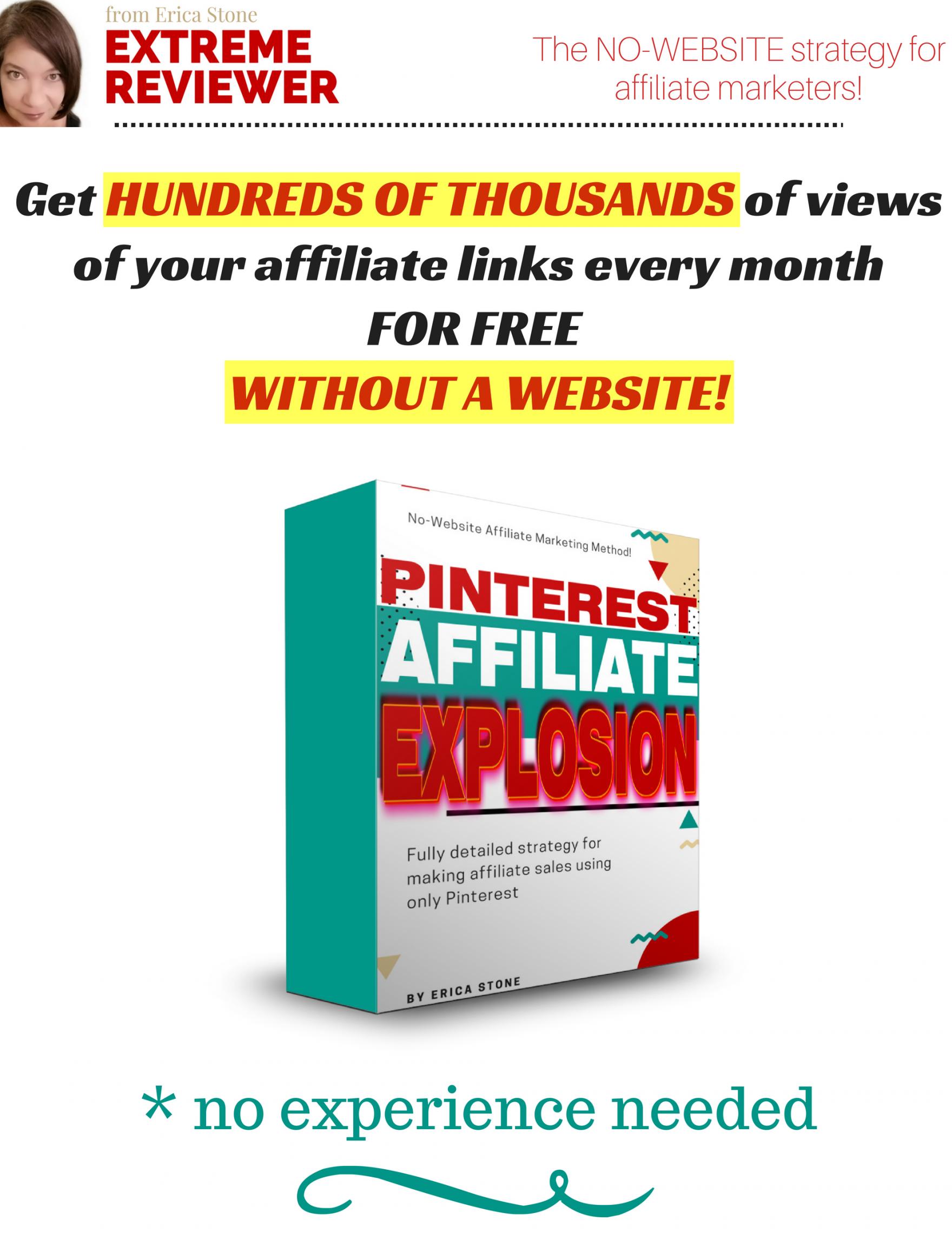 获得数百次精确点击产品链接而无需购买任何付费流量(Pinterest Affiliate Explosion)