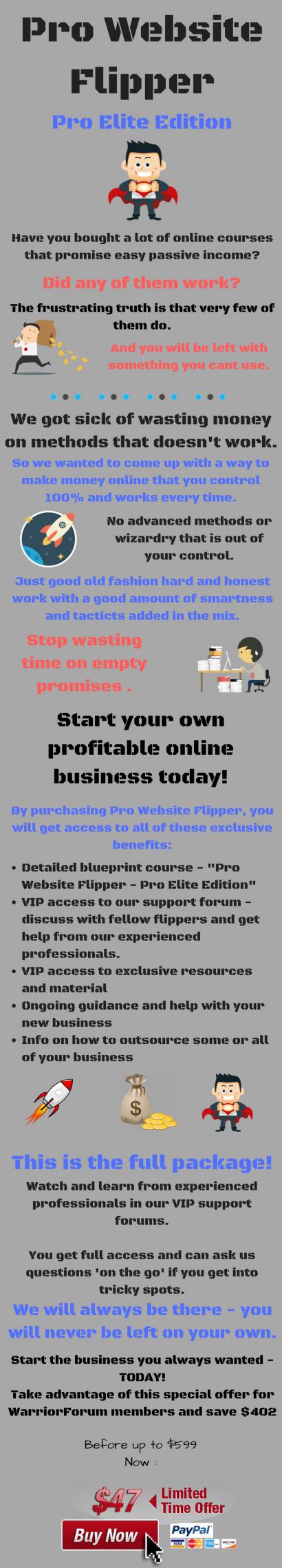 零基础教您如何出售网站盈利一步一步指南(Pro Website Flipper)
