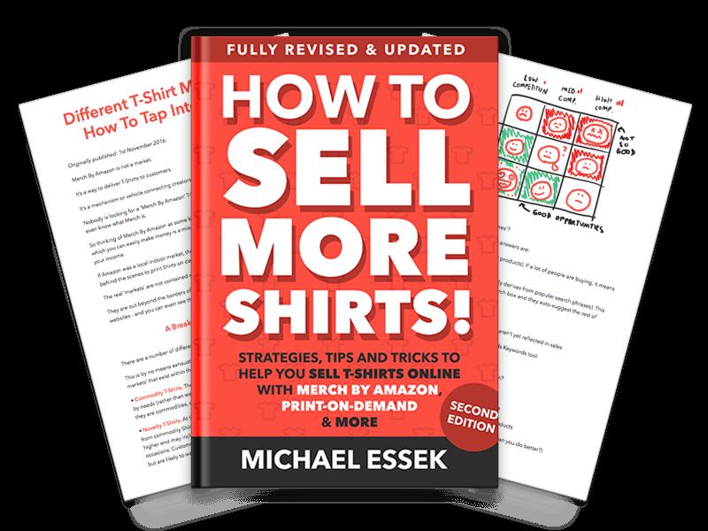 2018最新修订和更新的提示和技巧帮助您与Merch及亚马逊和按需印刷网站上出售T恤(How To Sell More Shirts V2)