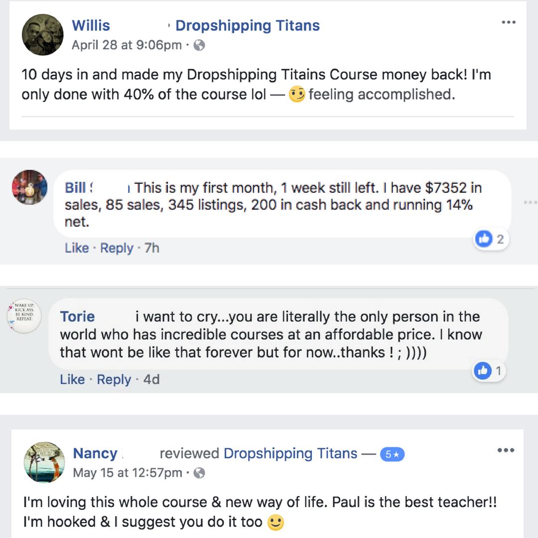 最全面的eBay Dropshipping培训课程 - 学习能够改变生活的一步一步的dropshipping系统,它帮助了数百人,就像你在网上赚取全职收入,做没有库存的电商!(Dropshipping Titans)