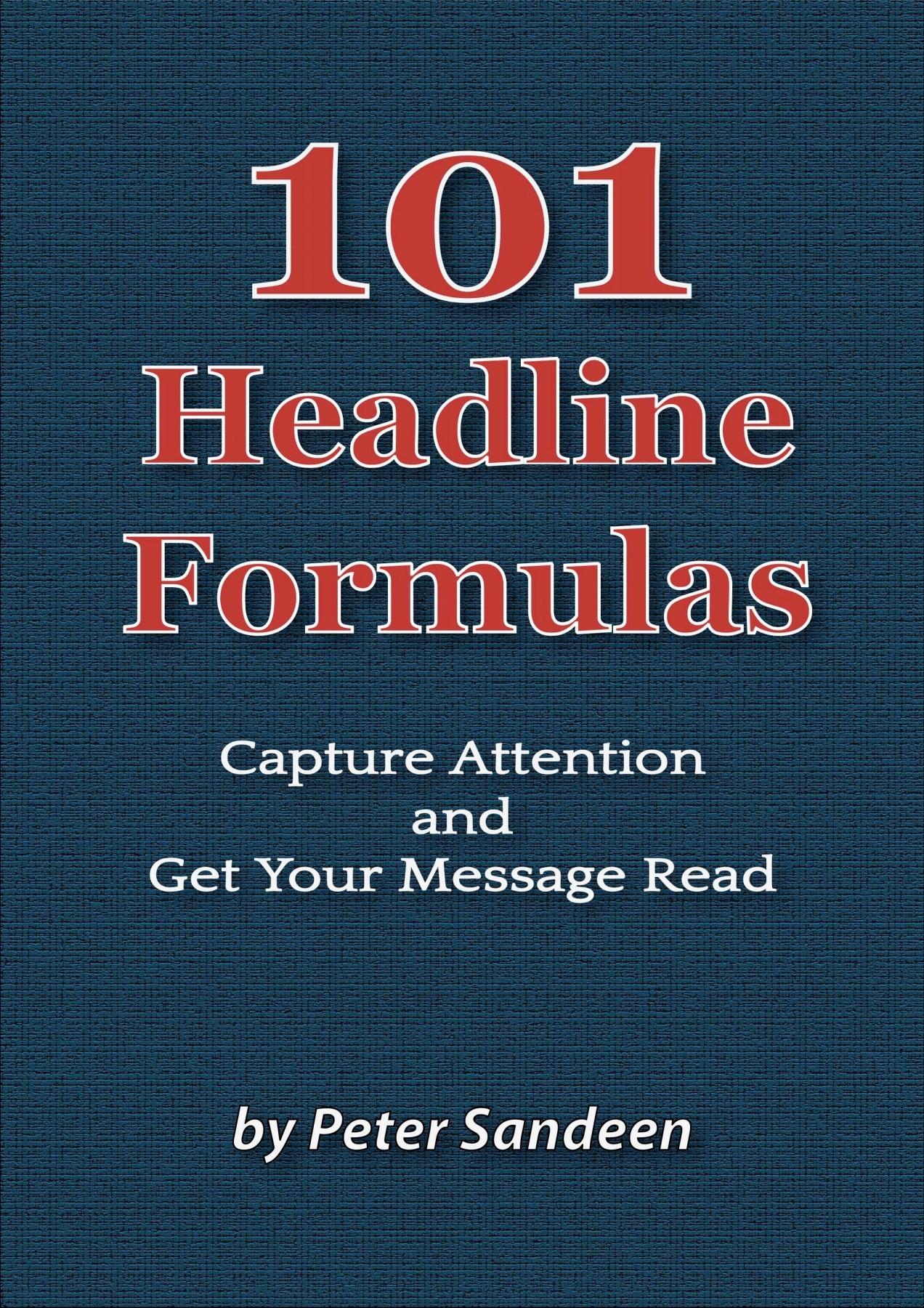 标题党速成 - 网络营销必备(101 Headline Formulas)