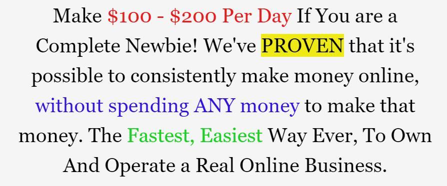 HOW I FINALLY MADE MY FIRST MONEY ONLINE ? 拥有和运营真正的在线业务,网上赚取最快、最简单的方法!(No Invest Cash Machine)