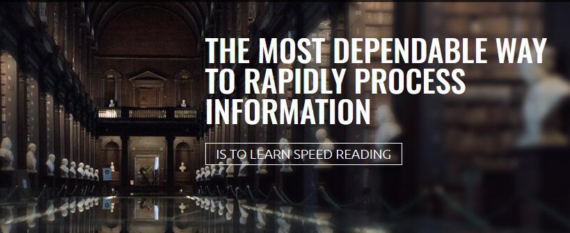 学习快速处理信息最可靠的方法!(Speed Reading Secrets Revealed)